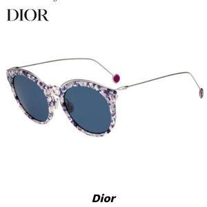 Christian Dior blossom sunglasses violet blue